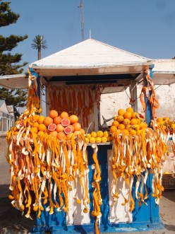 Jus d'orange in Essaouira
