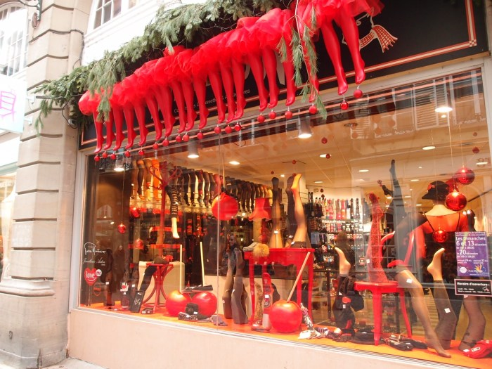 Lingerie gets the Christmas treatment