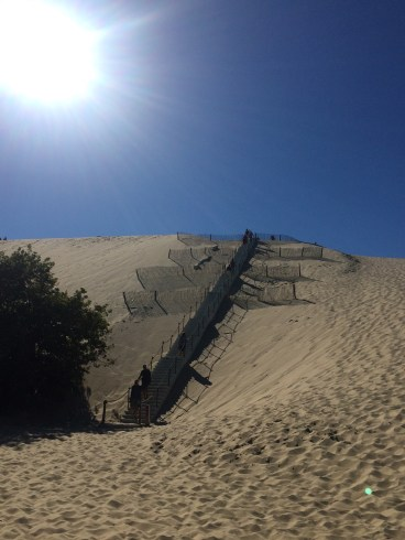 Stairway to sand heaven