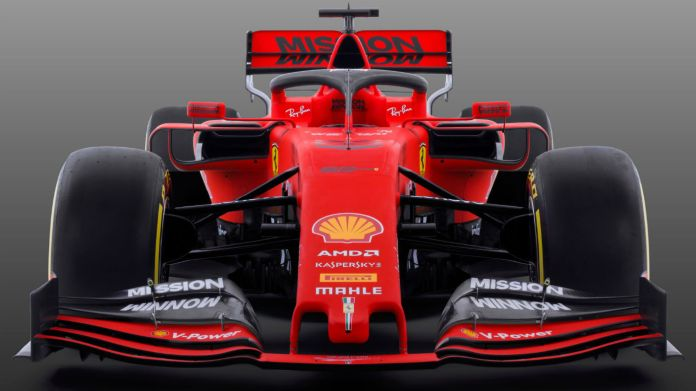 Ferrari SF90 2019 F1 car