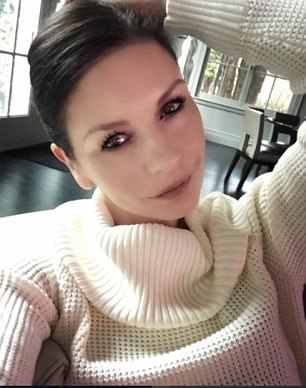 CatherineZeta-Joneshas been accused of 'filtering' – using a phone app to smooth out wrinkles