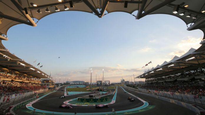 The Yas Marina Circuit hosts the Formula 1 Abu Dhabi Grand Prix