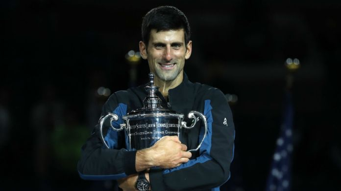 Novak Djokovic Juan Martin del Potro US Open men's final