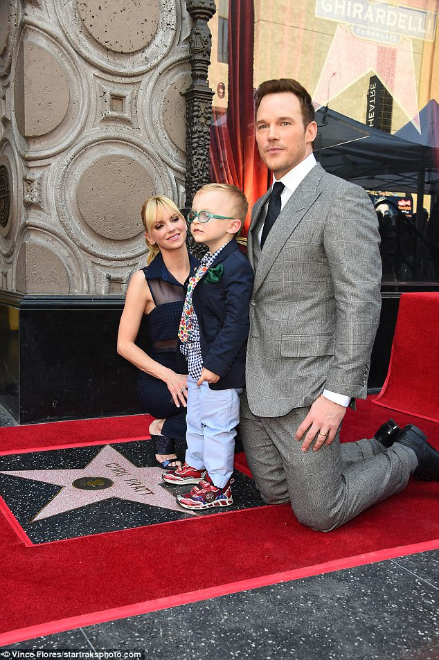 Proud: Anna and Jack looked so happy to be there