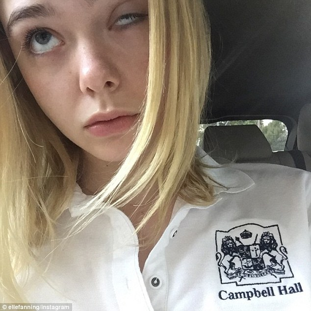 Instagram Newbie: Elle posted her first selfie to her new public Instagram account a couple weeks ago