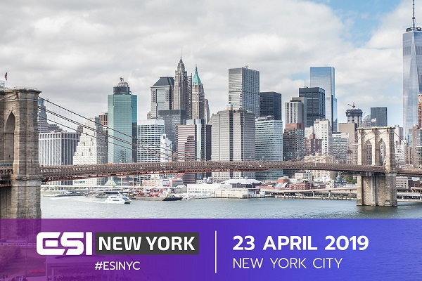 Agenda locked and 75% tickets sold for #ESINYC - NewsGroove Uk