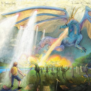 The Mountain Goats: In League with Dragons album artwork