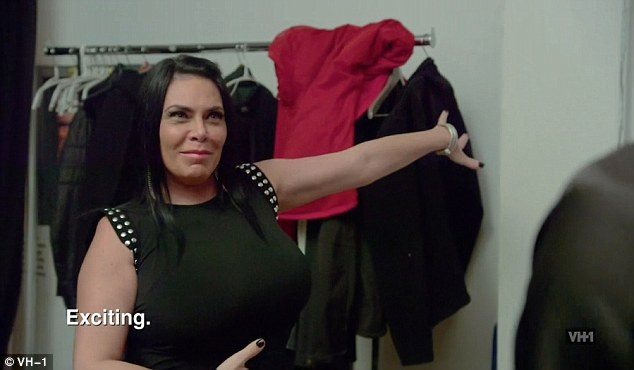 Good place: Renee Graziano was happy to share that she was doing well in her life