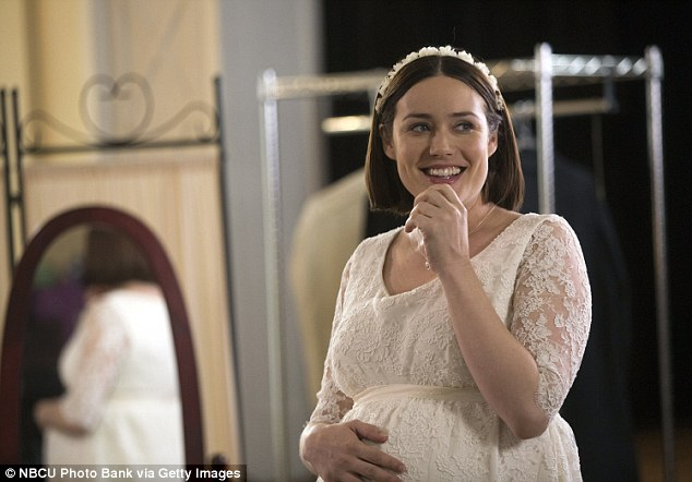 Reality check:The star's pregnancy was even written into the show's plot which is currently airing Season 3 on NBC