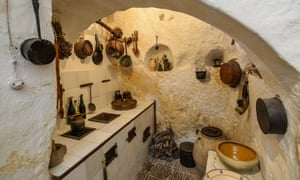 The Casa Grotta cave house museum, Matera.