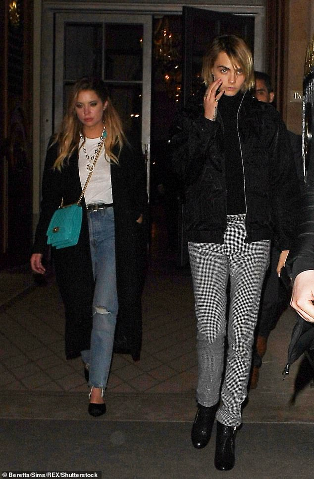 Cara Delevingne And Ashley Benson Confirm Their Relationshipon