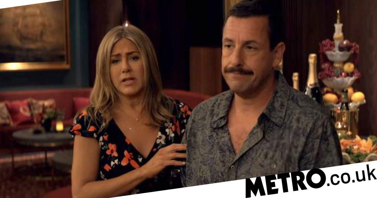 All the times Jennifer Aniston and Adam Sandler made fun of