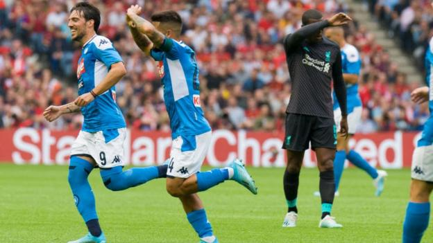 Image result for liverpool 0-3 napoli