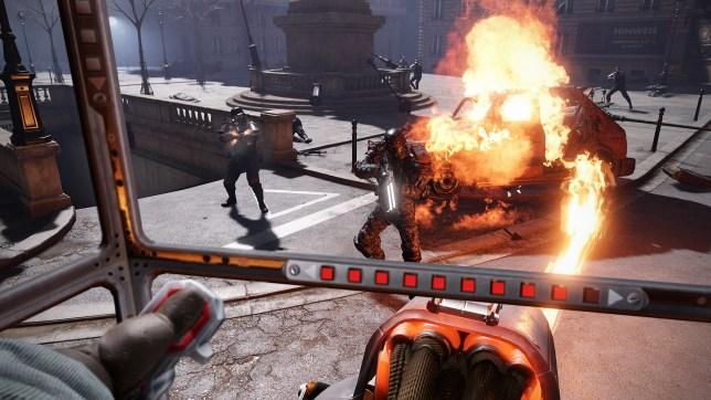 Wolfenstein: Cyberpilot (PSVR) - killing Nazis is usually more fun