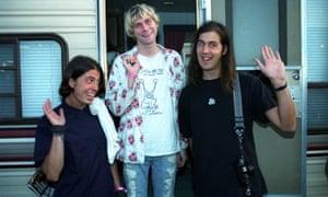 Nirvana: Dave Grohl, Kurt and Krist Novoselic.