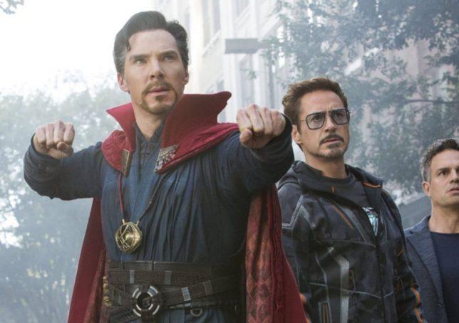 a still from avengers: infinity war