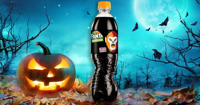 Fanta Black Orange is coming for Halloween