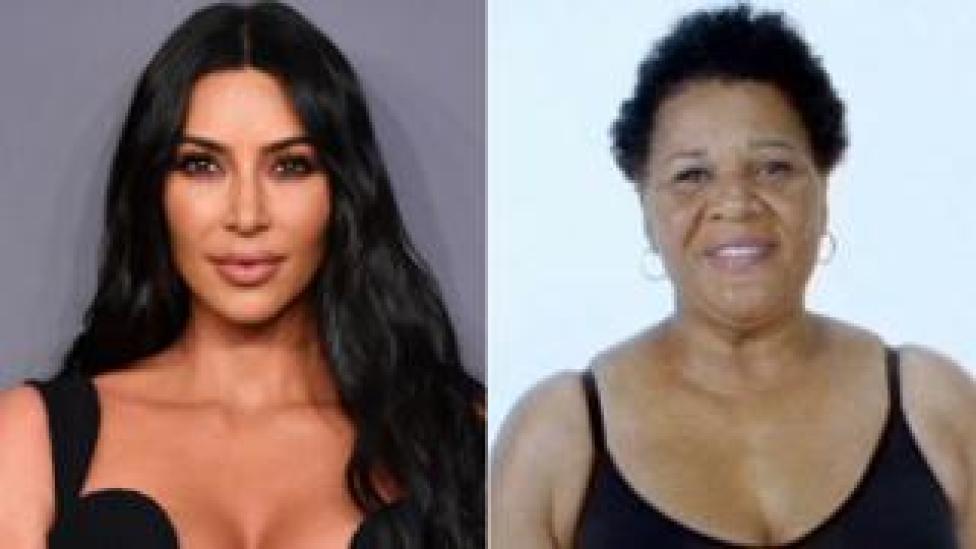 Kim Kardashian West and Alice Marie Johnson