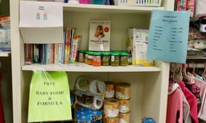 The Crisis Pregnancy Center offers free baby clothes and supplies in exchange for in-house paper money earned while watching anti-abortion videos and pregnancy tutorials.