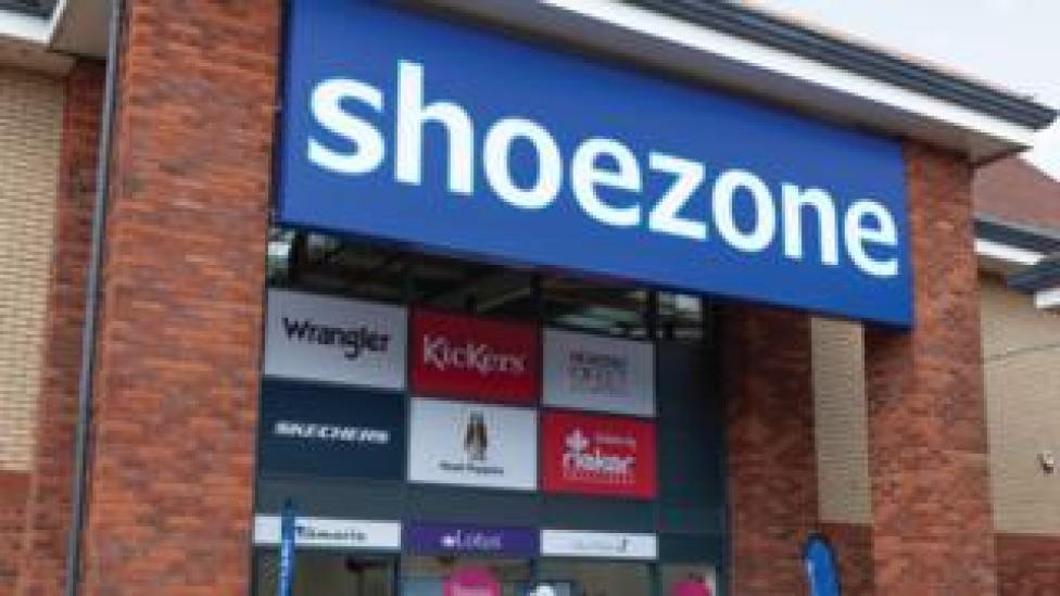 Shoe Zone store