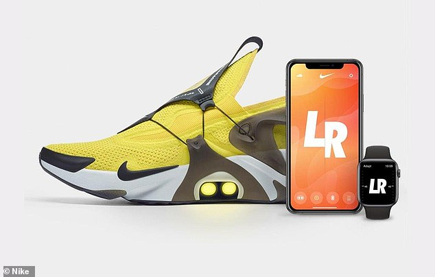 Nike is tying up with Siri to let owners of its new shoes untie their laces using just their voice.The company's latest take on futuristic wearable technology has been embedded into its revamped Huaraches trainers