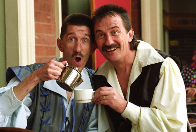 The Chuckle Brothers Paul and Barry Elliot