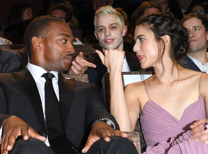 Pete Davidson, Margaret Qualley, Anthony Mackie, Venice Film Festival