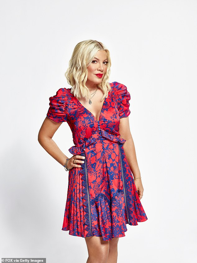 Yikes: Tori Spelling is still facing legal troubles as Radar Online reported the actress has yet to pay off a hearty American Express credit card bill