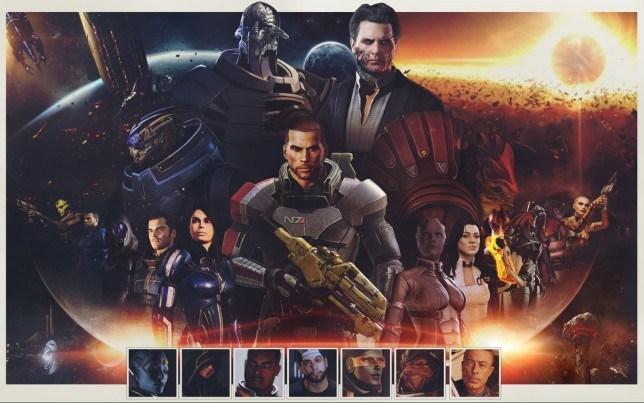 Mass Effect - not a world but a whole universe