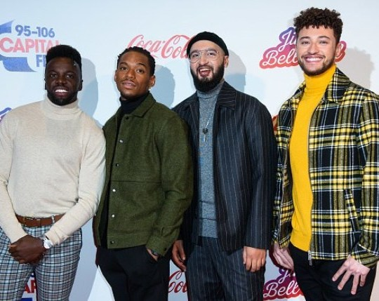 X Factor's Rak-Su have been dropped