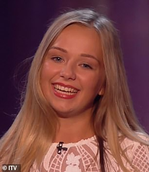 Sensational:Simon said they 'wouldn't be sitting there today' if it wasn't for her audition