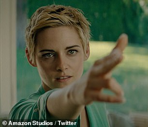 Transformation:Seberg sees Kristen take on the role of 1950s movie icon Jean Seberg (above in the film)