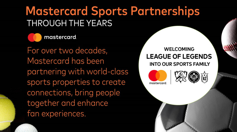 Mastercard is embracing esports as well as traditional sports.