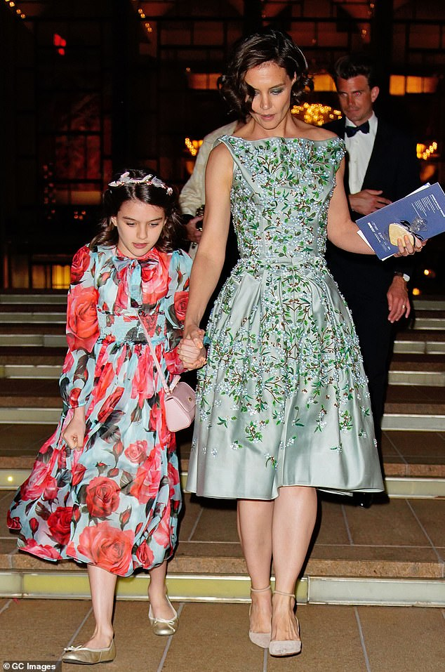 Mom and daughter: Together Tom and Katie have daughter Suri Cruise; seen here in May 2018 at the ballet in NYC