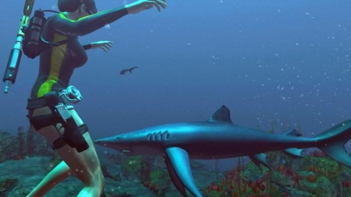 best sharks video games tomb raider