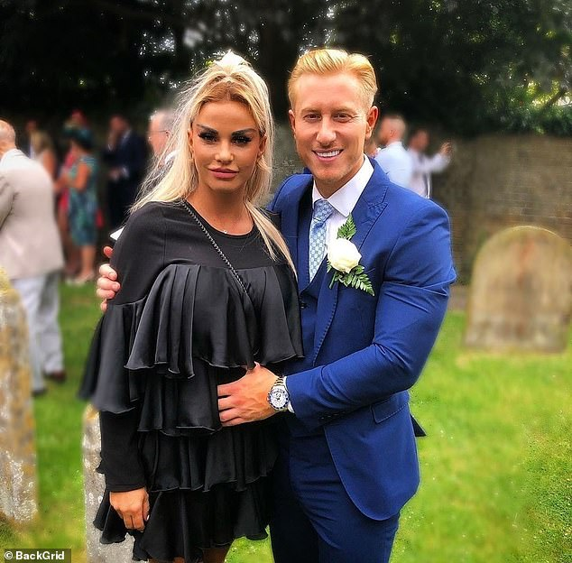 Shocking: This comes after reports that Katie dumped her fiancé Kris Boyson by text after she was accused of cheating on him with a builder who she secretly flew out to Turkey
