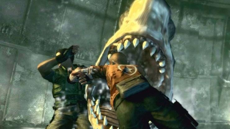 best sharks video games resident evil
