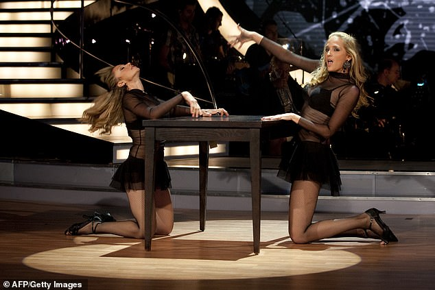 Sultry:In 2010 Israel became the first version of Strictly to introduce same-sex couples, when TV presenter Gili Shem Tov was partnered with professional dancer Dorit Milman