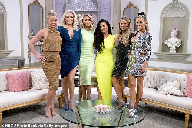 Good company: The ladies will join Denise Richards, Erika Jayne, Rinna, Kyle Richards, Teddy Mellencamp and Dorit Kemsley
