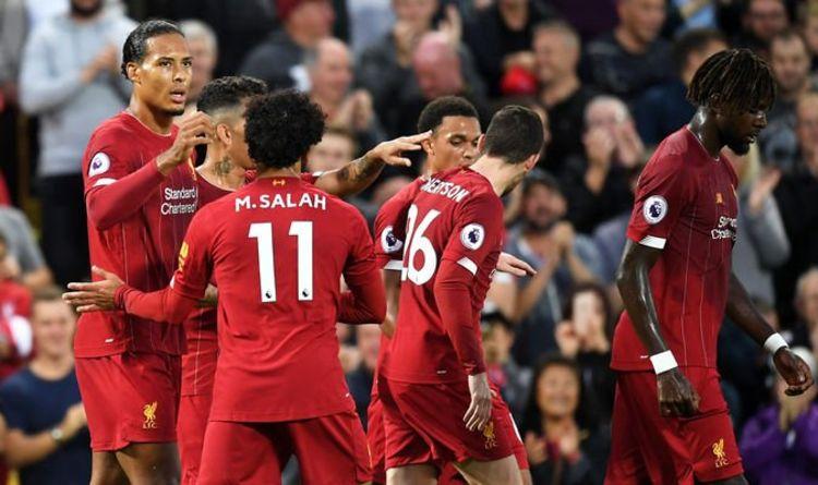 Liverpool 4 1 Norwich Live Score Goals And Premier League