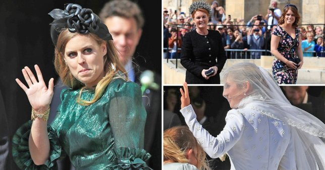 Royal attend Ellie's wedding