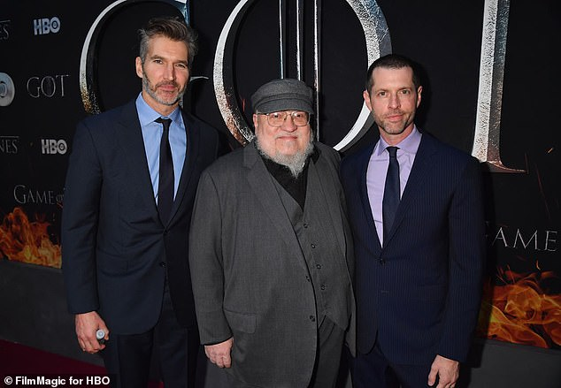 George's book:The creators also added they had no idea the show would become such a huge hit, because when they started going to Northern Ireland to film the show, their customs agents had never heard of the George R.R. Martin books