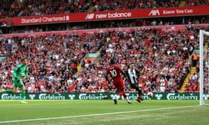 Allowing Sadio Mane to slot the ball home for his, and Liverpool's, second goal of the game.
