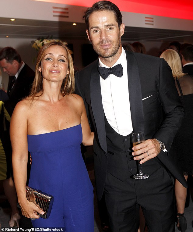Divorce:She has stayed single since her divorce from her ex-husband Jamie Redknapp after splitting in 2017 (pictured together in 2013)