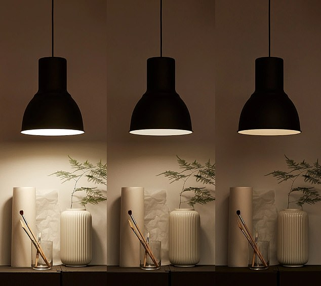 Ikea's smart lamps and light bulbs allow users to control how bright or dim they want their room