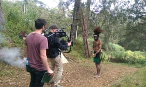 Behind the scenes filming documentary 'Lost Rambos'