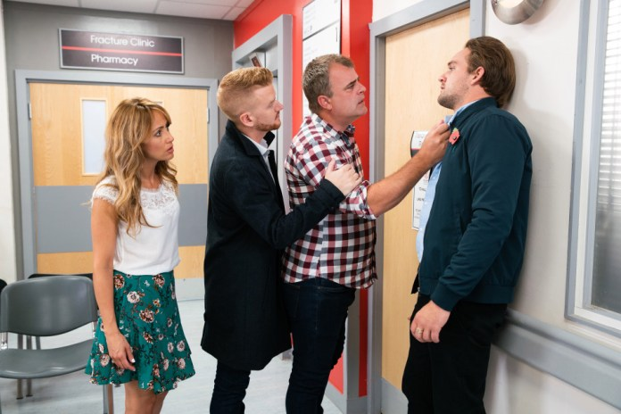 Steve is furious with Ali after his error that put Emma in danger