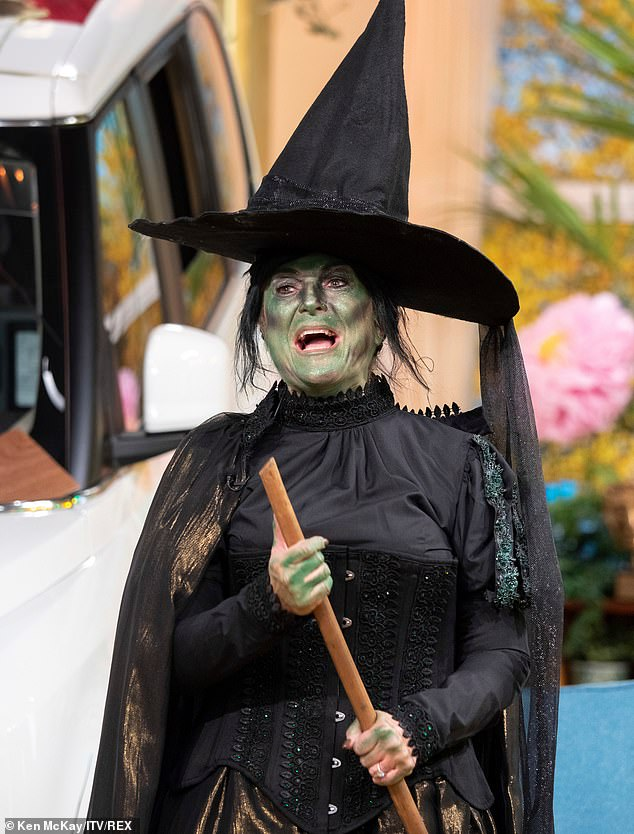 Evil!Fellow characters from the show also made an appearance in the form of Vanessa Feltz who dressed up as the Wicked Witch Of The West