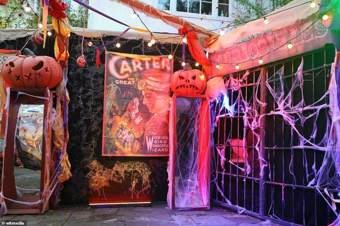 Super scary: Jonathan's Halloween bash has long been a staple in the celebrity calendar