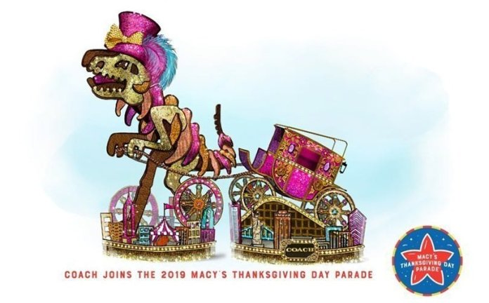 Coach becomes first luxury fashion brand in Macy's Thanksgiving Day Parade